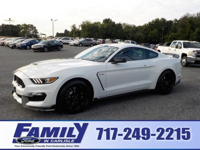 2019 Ford Mustang Shelby Gt350 Electronics Pack Leather Trimmed Sport Seats